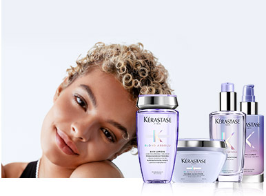 Kerastase Blond Absolu Cicaextreme Hair Care for Textured Blonde Hair