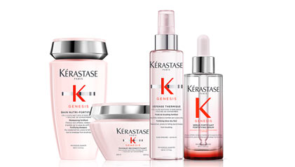 Genesis Hair Care Reduces Hair Breakage From Brushing